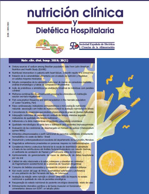 Nutr. clín. diet. hosp. 2019; 39(1)
